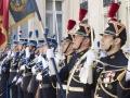 Remise de décorations par Christophe CASTANER ministre de l'intérieur