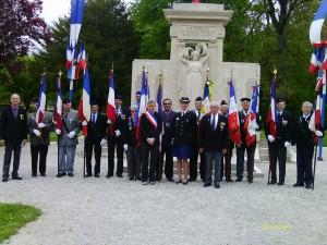 27 avril 2014 cérémonie du souvenir des déportés à Joinville