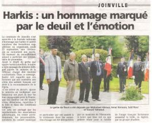 Hommage aux harkis le 25-09-2014
