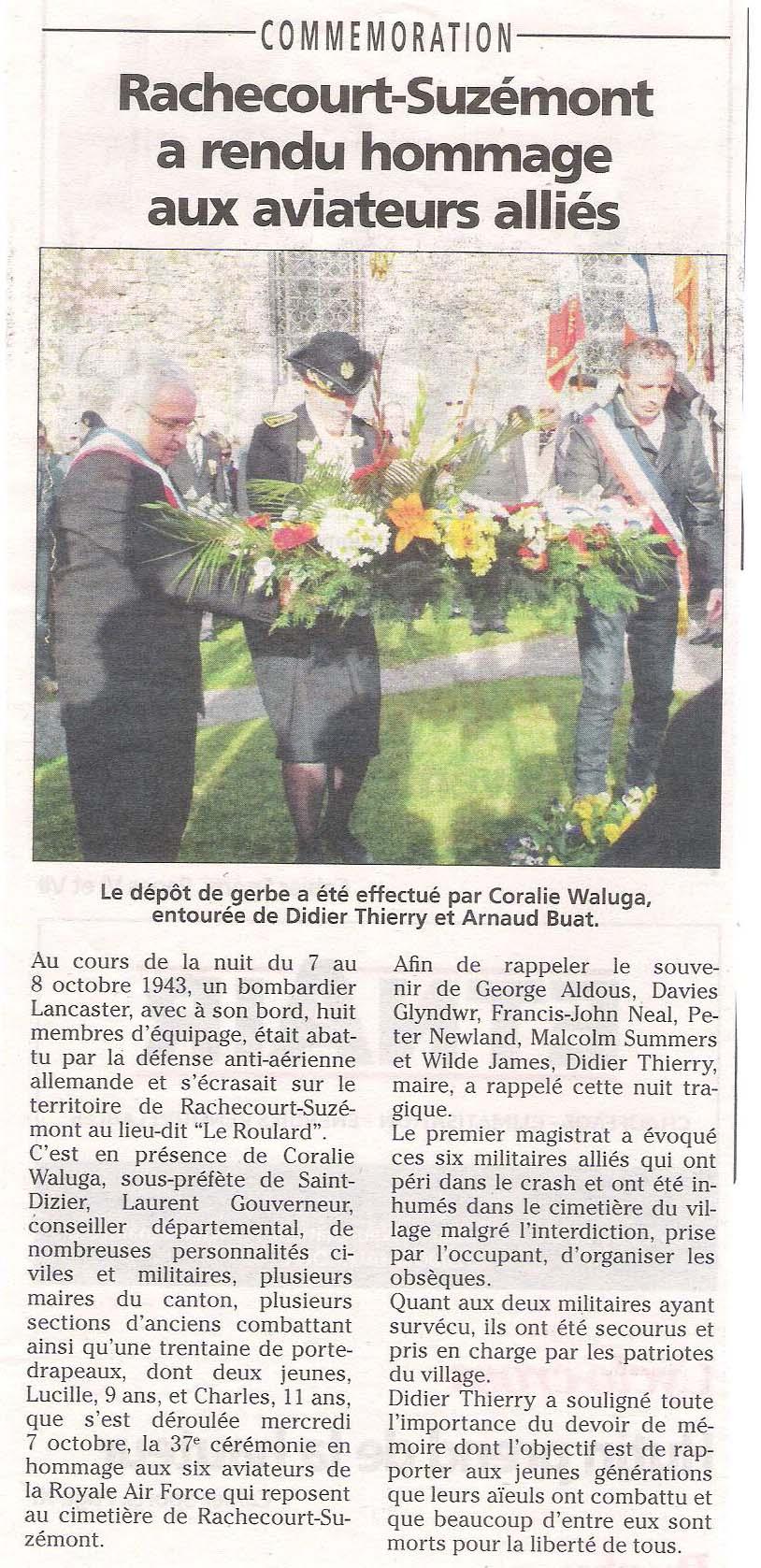 (15) 07-10-2015 Hommage aux aviateurs alliés à Rachecourt-Suzémont 2