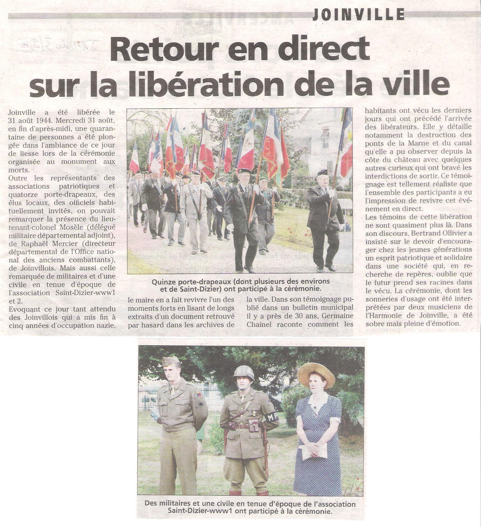 Libération de Joinville