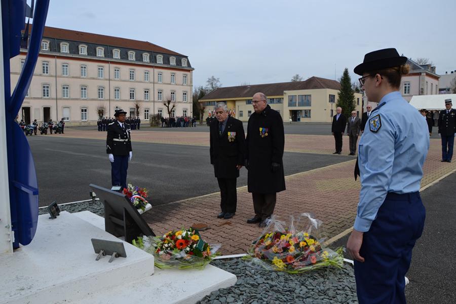 hommage aux gendarmes 2017