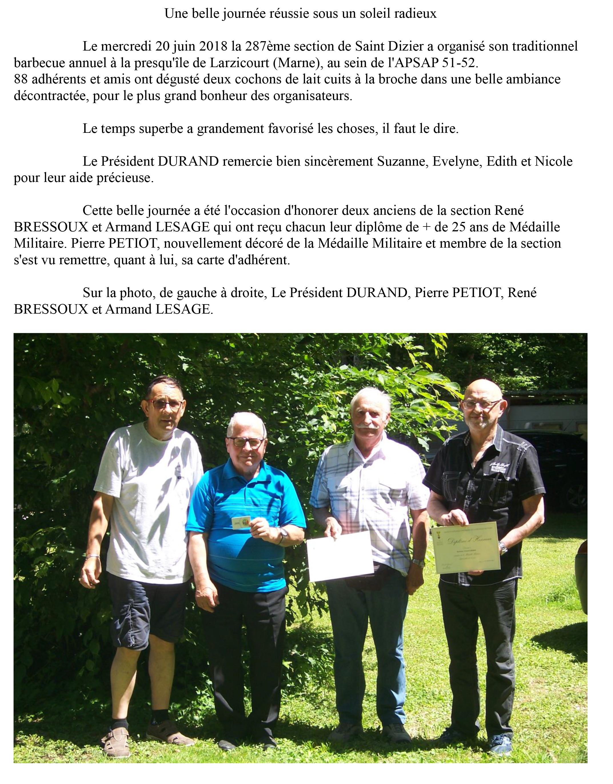 Article sur barbecue 2018