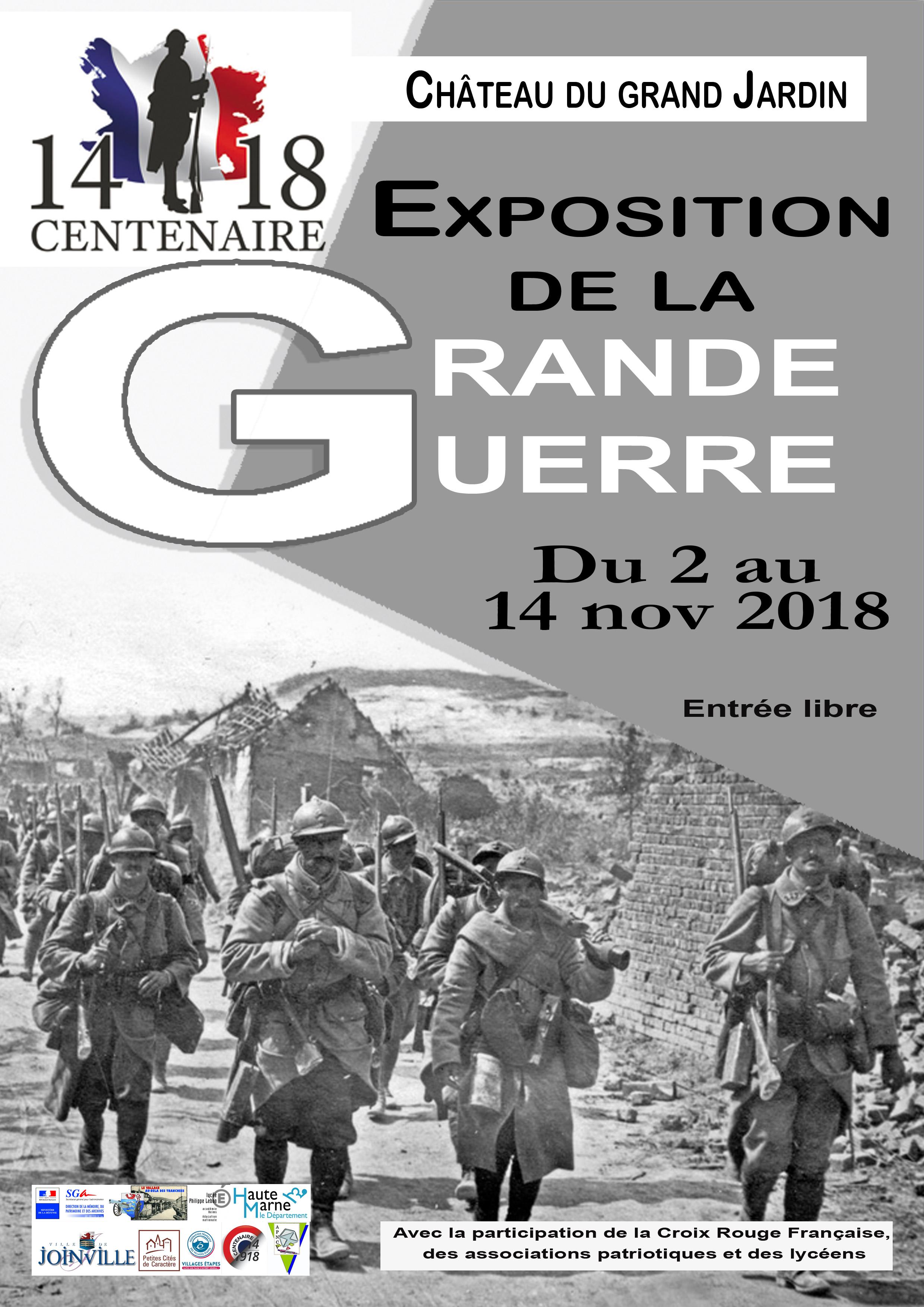 Affiche expo centenaire